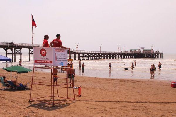Ver detalles de Continúa el Operativo de Seguridad en Playa a lo largo de toda La Costa