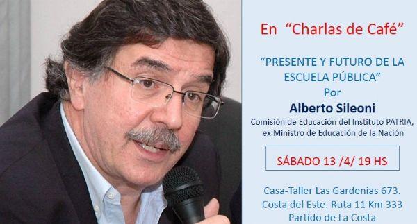 Ver detalles de Charlas de Café en el Bosque con Alberto Sileoni