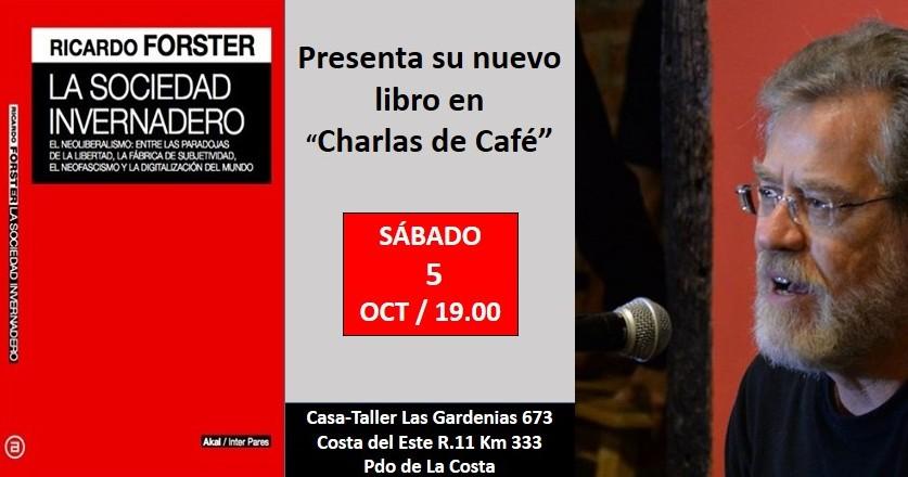 Ver detalles de Charlas de Café en el Bosque con Ricardo Forster