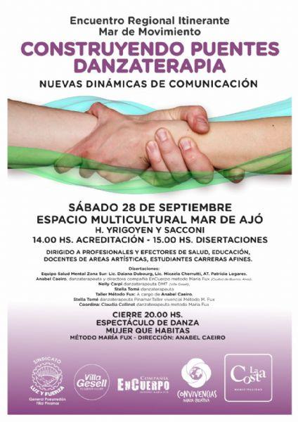 Ver detalles de Encuentro regional de danza-terapia en La Costa