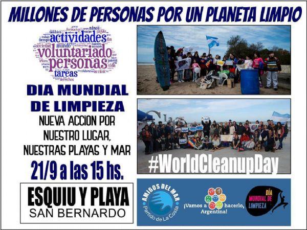 Ver detalles de Día mundial de limpieza #WorldCleanupDay