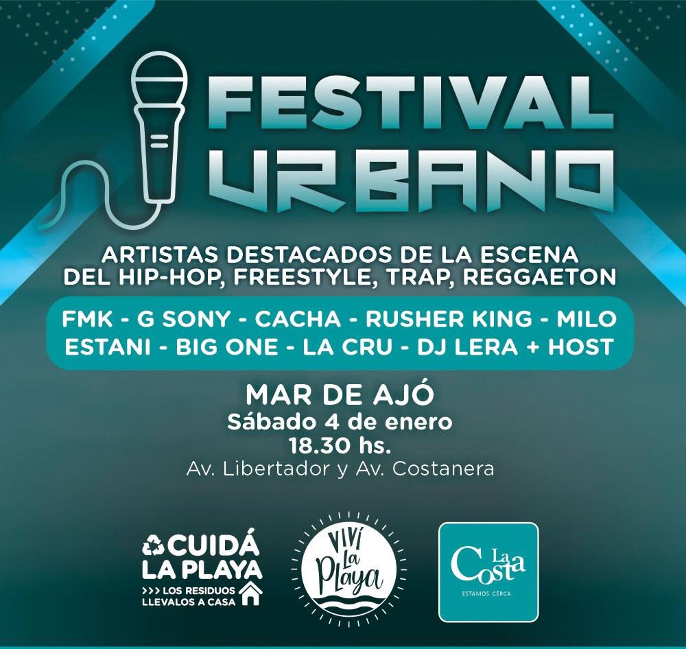 Ver detalles de Festival de música urbana