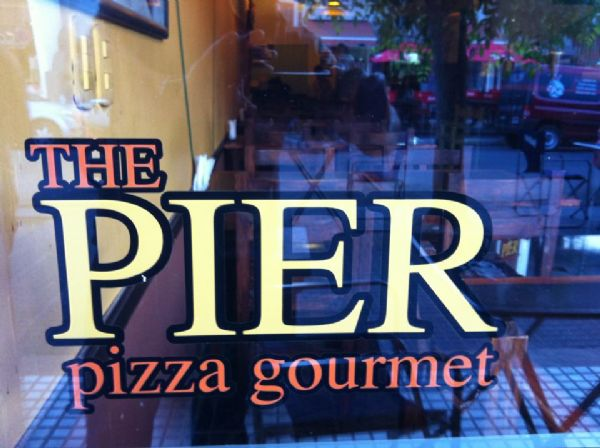 The Pier pizza gourmet