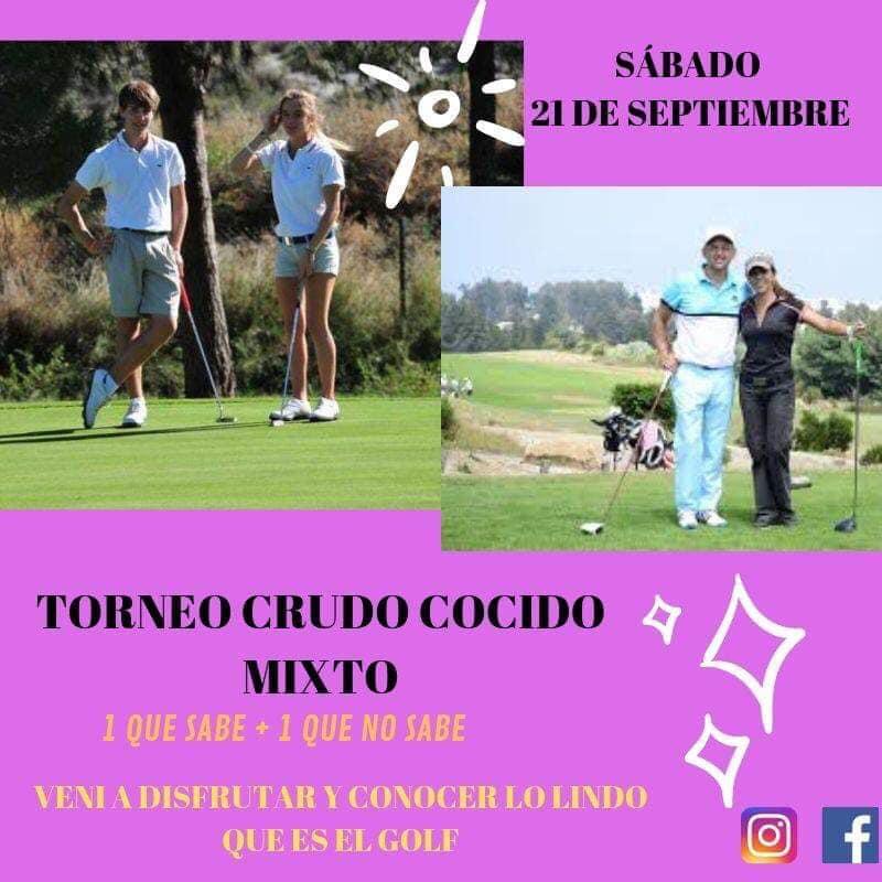 Ver detalles de Torneo de Golf Crudo Cocido mixto