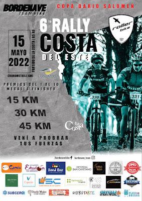 Mountain Bike: 6to Rally Costa del Este