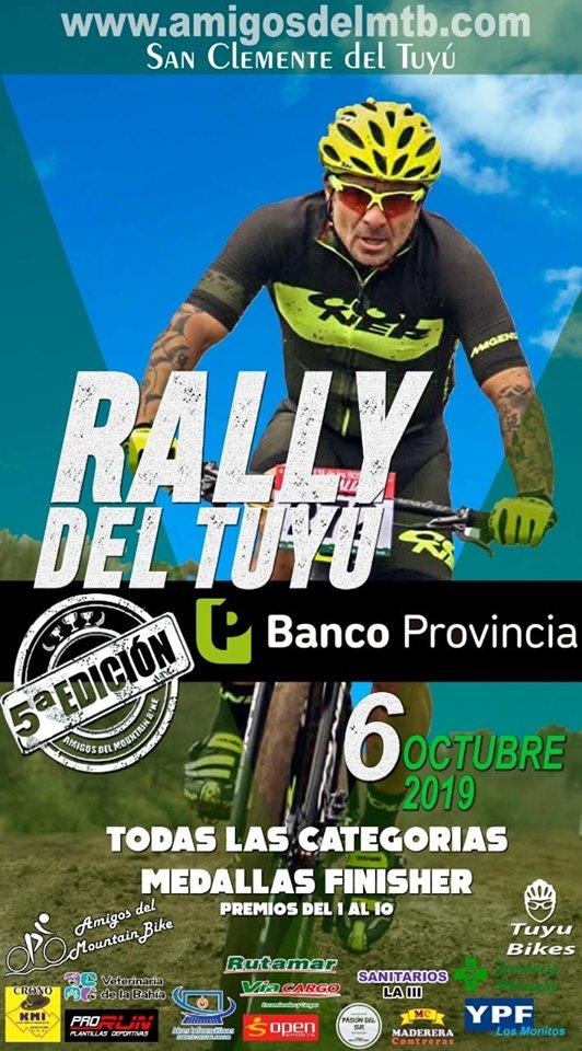Ver detalles de 4o. Rally del Tuyú - Mountain Bike