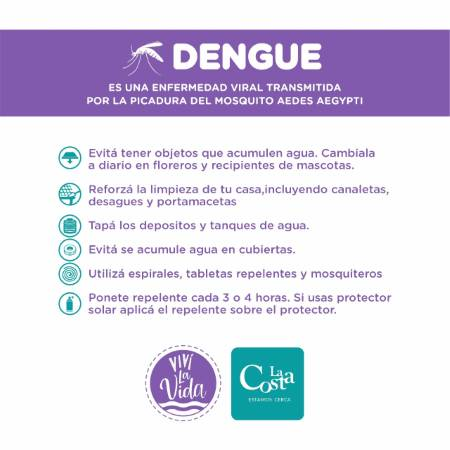 Ver detalles de Principales acciones para prevenir el dengue