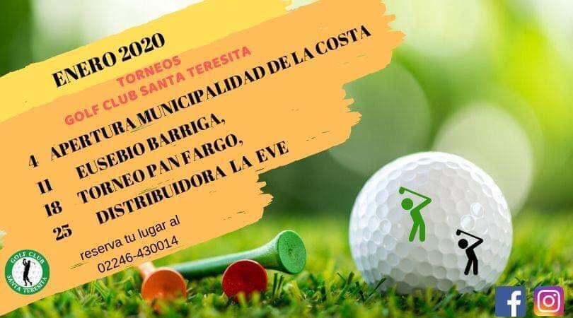 Torneo de Golf en Santa Teresita: Copa La Costa