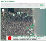 Ver detalles de Nuevo Servicio: Mapa de alojamientos
